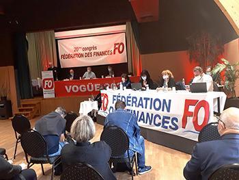 20ème congrès FO Finances
