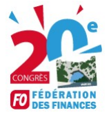 Logo 20eme congres fo finances